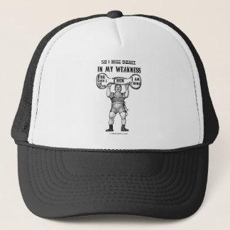 Boast in My Weakness 2 Corinthians 12 Trucker Hat