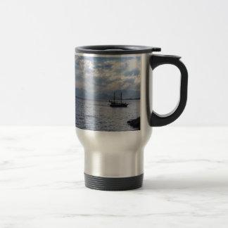 Boat 15 Oz Stainless Steel Travel Mug