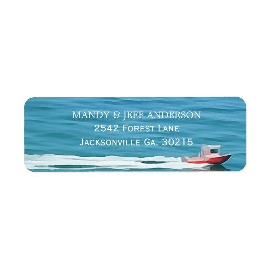 Boat Address Labels