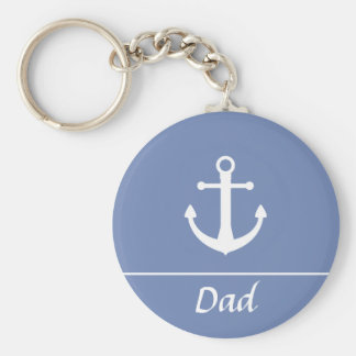 Boat Anchor Keychain for Dad