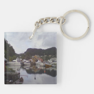 boat and sea acrylic keychains