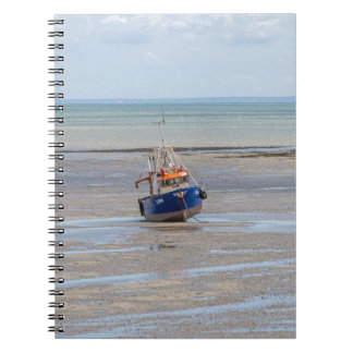 Boat at low tide notebook