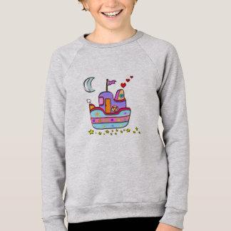 boat at night sweatshirt
