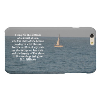 Boat at Sea-with quote