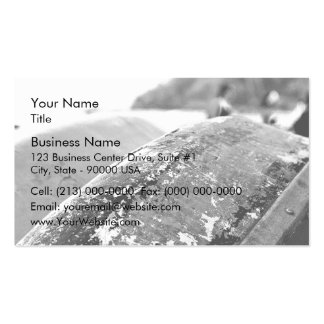 Boat barco texture business card