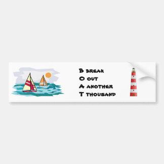 BOAT Bumper Sticker