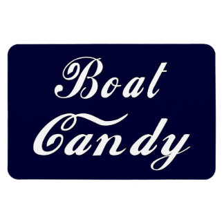 Boat Candy Magnet