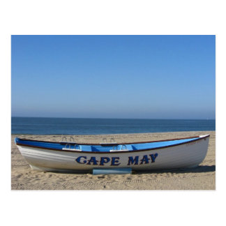 Boat * Cape May, NJ Postcard