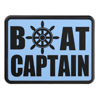 BOAT CAPTAIN TRAILER HITCH COVER