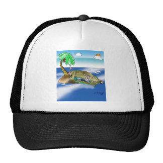 Boat Cartoon 9418 Trucker Hat