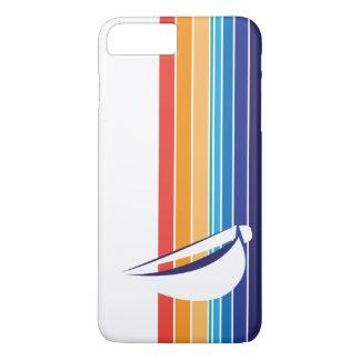 Boat Color Square_horizontal hues_custom designed iPhone 7 Plus Case