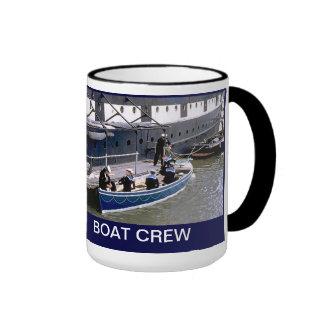 Boat crew ringer coffee mug