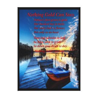 Boat Dock Gallery Wrap Canvas