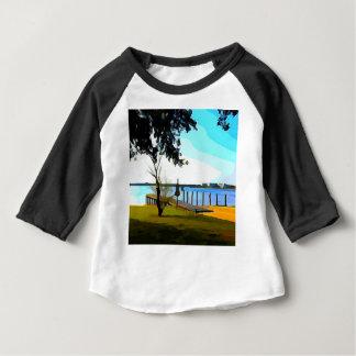 Boat Dock Lake Baldwin Baby T-Shirt