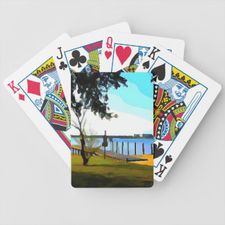 Boat Dock Lake Baldwin Bicycle Playing Cards