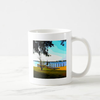 Boat Dock Lake Baldwin Coffee Mug