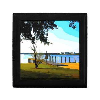 Boat Dock Lake Baldwin Gift Box