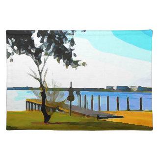 Boat Dock Lake Baldwin Placemat