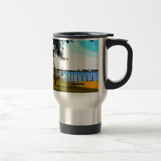 Boat Dock Lake Baldwin Travel Mug