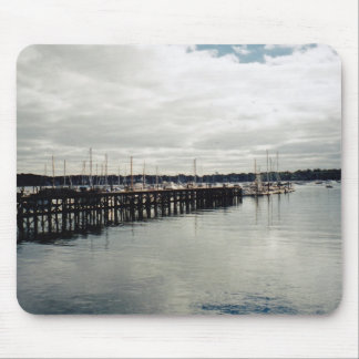Boat Dock Mouse Pad