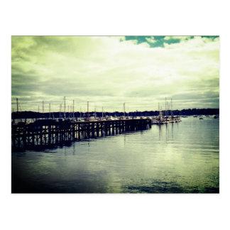 Boat Dock Postcard