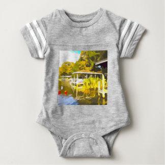 Boat Docks Lake Osceola Baby Bodysuit