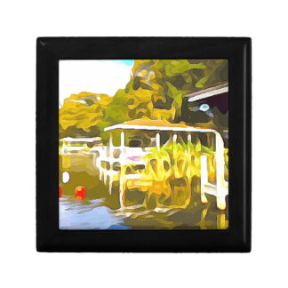 Boat Docks Lake Osceola Gift Box