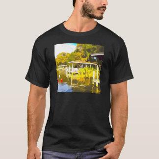 Boat Docks Lake Osceola T-Shirt