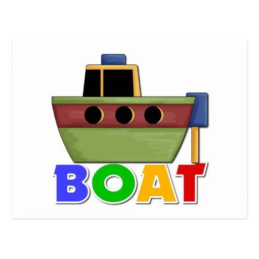 Boat Gift For Kids Postcard