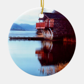 Boat House on Ullswater Ornament