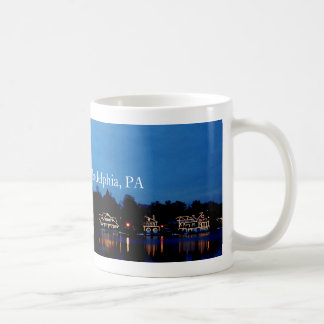 Boat House Row, Phila, PA Coffee Mug