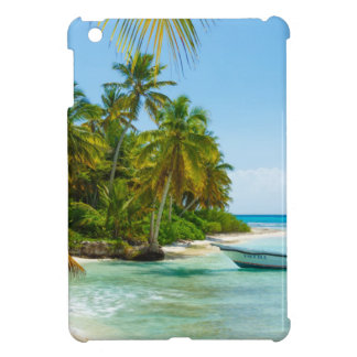 Boat In Caribbean Case For The iPad Mini