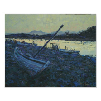 Boat in Portugal Poster