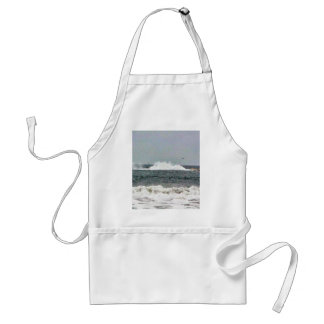 Boat In Race Adult Apron
