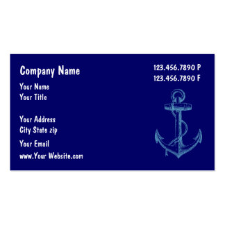 Boat Maintenance Business Cards
