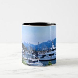 Boat Marina Photo Mug