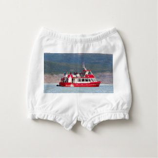Boat on Lago Grey, Patagonia, Chile Diaper Cover
