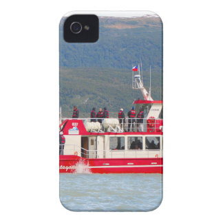 Boat on Lago Grey, Patagonia, Chile iPhone 4 Case-Mate Case