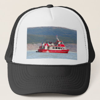 Boat on Lago Grey, Patagonia, Chile Trucker Hat