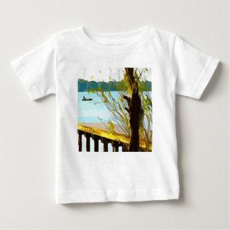 Boat on Lake Baldwin Baby T-Shirt
