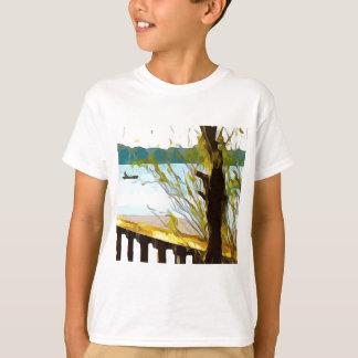 Boat on Lake Baldwin T-Shirt