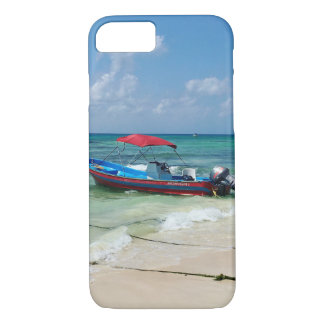 Boat on Playa Del Carmen in Mexico Case-Mate iPhone Case