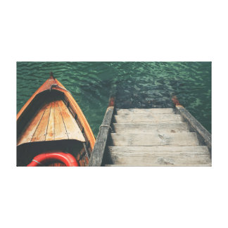 Boat on the Water Canvas Print