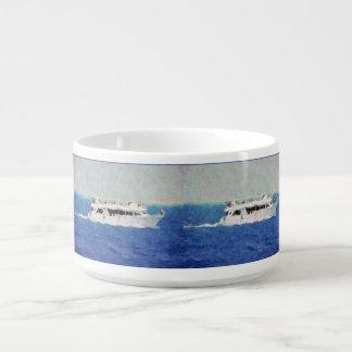 Boat painting bowl
