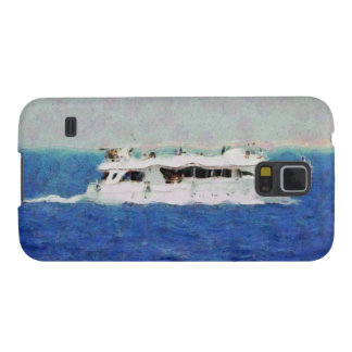 Boat painting cases for galaxy s5