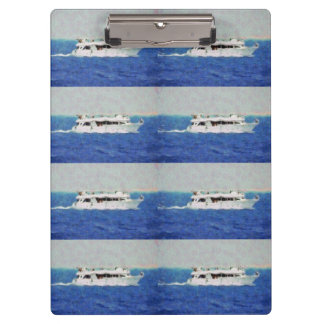 Boat painting clipboard