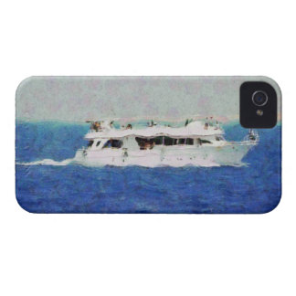 Boat painting iPhone 4 case