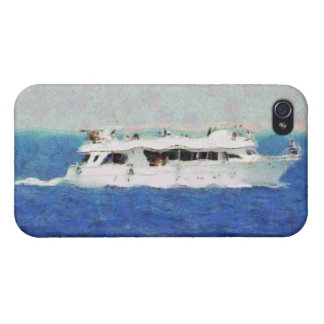 Boat painting iPhone 4 cases