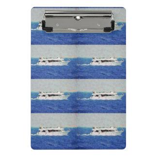 Boat painting mini clipboard