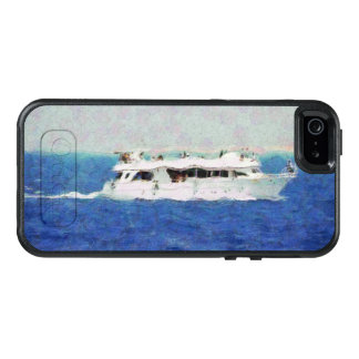Boat painting OtterBox iPhone 5/5s/SE case